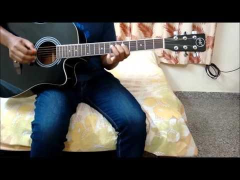 Paravashanadenu Guitar (Paramathma) - Guitar Intro Theme Part 1