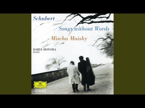 Schubert: An die Musik, D.547 (Op.88/4)