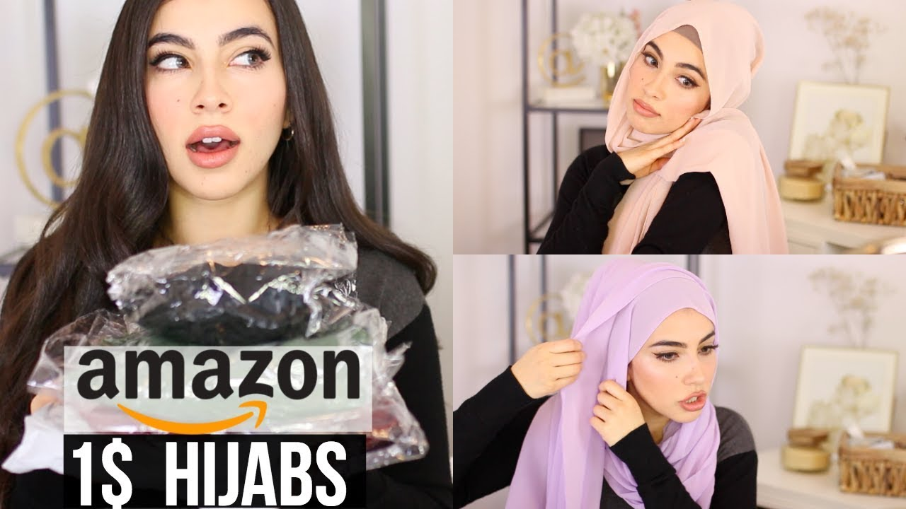 4a3af9025bd75 TRYING 1$ HIJABS/MUSLIM HEADCOVERING FROM AMAZON