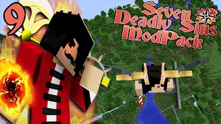 THE UNFORESEEN FLYING SKILLS! || The Seven Deadly Sins Modpack Episode 9 (Minecraft SDS)