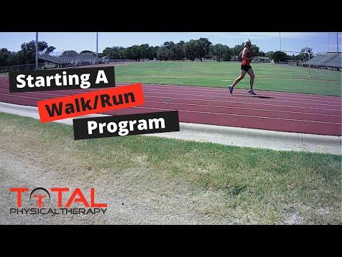 Starting a Walking/Running Program