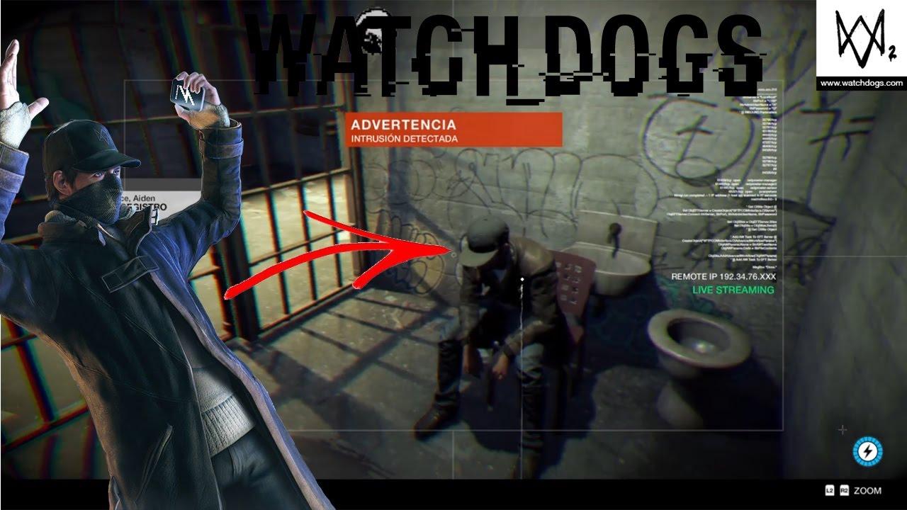 Watch Dogs 2 Aiden Pearce Easter Egg Español Latino - YouTube