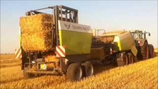 Repeat youtube video TST QUADRO PAC V mit Claas Quadrant 3300