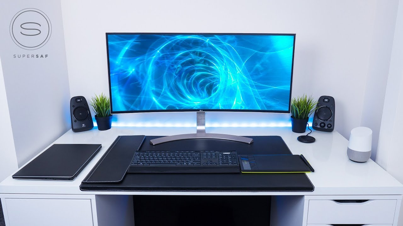 My Office Desk SETUP TOUR 2018