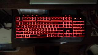 Unboxing Cooler Master CM Storm Devastator Keyboard Bundle Red LED