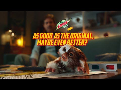 MTN DEW ZERO SUGAR GREMLINS   RULE #4   MUST BE REFRESHING AFTER MIDNIGHT