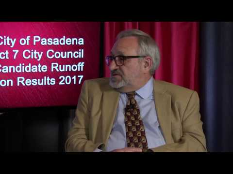 Pasadena Media Election Coverage: District 7 Runoff Election Results 2017