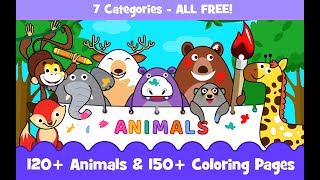 Kids Animal Sounds Baby Games - Best animal game on Android