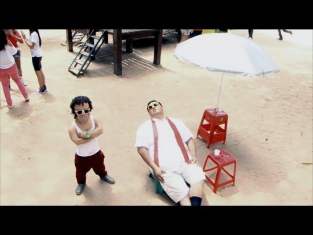 VU PRA CAMETÁ - BANDA PARANOIA - Gangnam style