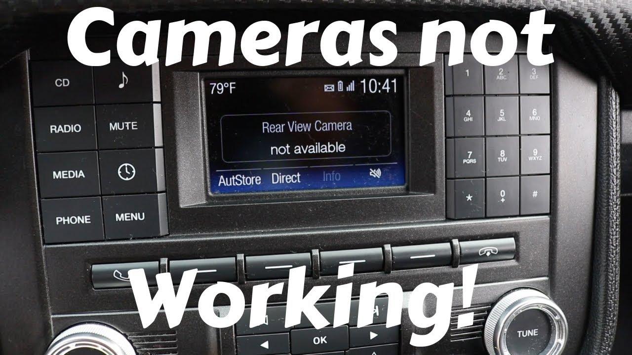 2015-2017 Mustang Backup Cameras Not Working