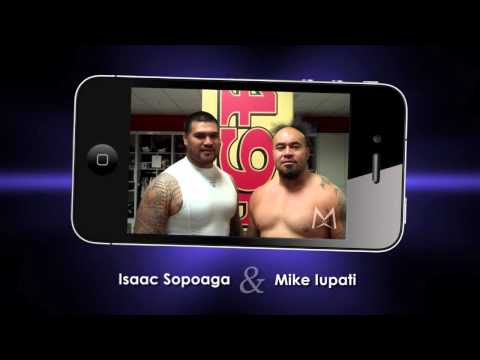 Isaac Sopoaga and Mike Iupati Support MetroMe