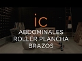 WORKOOUT ABDOMINALES || ROLLER PLANCHA - BRAZOS
