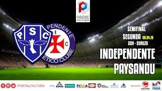 Paysandu 1 x 0 Independente - #CulturaNoBanparazão - 08.04.2019