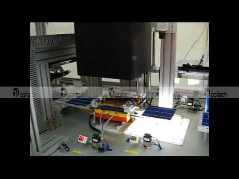 solar cell auto sorting & testing