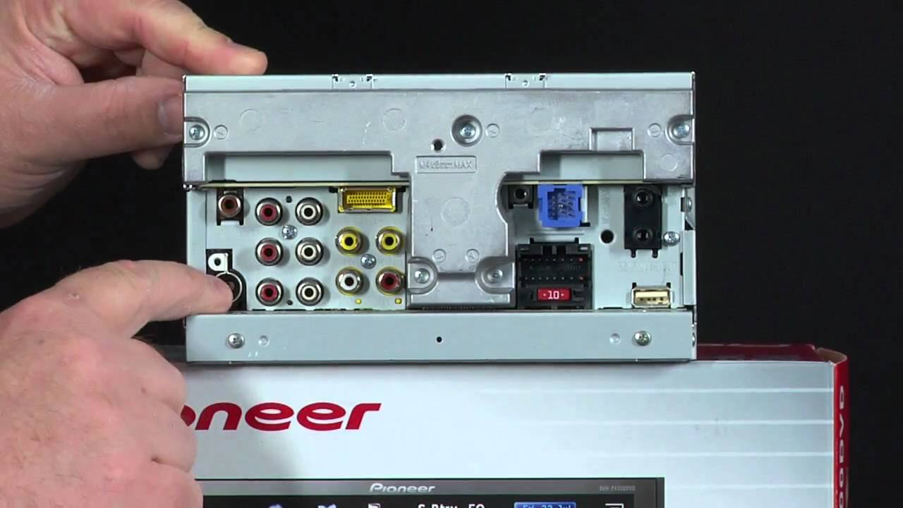 maxresdefault what's in the box avh p4300dvd dvd receiver youtube pioneer avh p4300dvd wiring diagram at gsmportal.co