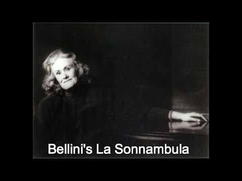 Joan Sutherland talks about La Sonnambula
