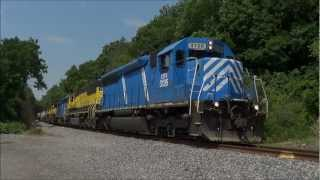 SD60s Come to the New York, Susquehanna & Western - June 2012