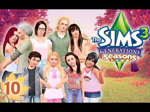 Let's Play The Sims 3: Generations & Seasons (Part 10) - Hello, Mr. Reaper!