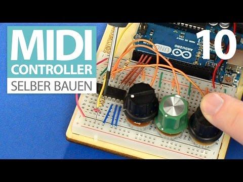 Ultraschall Entfernungsmesser Selber Bauen : Midi controller selber bauen e ultraschall sensor hc sr mit