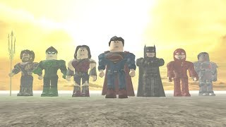 justice league Trailer (Roblox)
