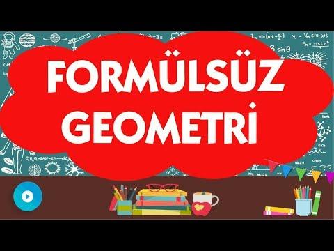 GEOMETRİ FORMÜLSÜZ SORU ÇÖZÜM HİLELERİ | ABDÜL AZİZ GÜRBÜZ | YGS-LYS-KPSS-ALES-DGS-TEOG | Geometry