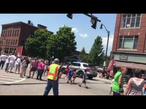 Franklin New Hampshire Class Day Parade 2017