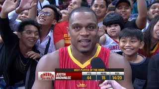 Best Player: Justin Brownlee | PBA Commissioner's Cup 2018