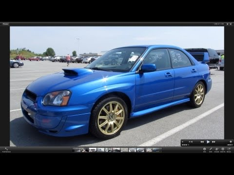 Wrx Sti 0 60 >> 2004 Subaru Impreza Wrx Sti In Depth Review Zero To 60 Times