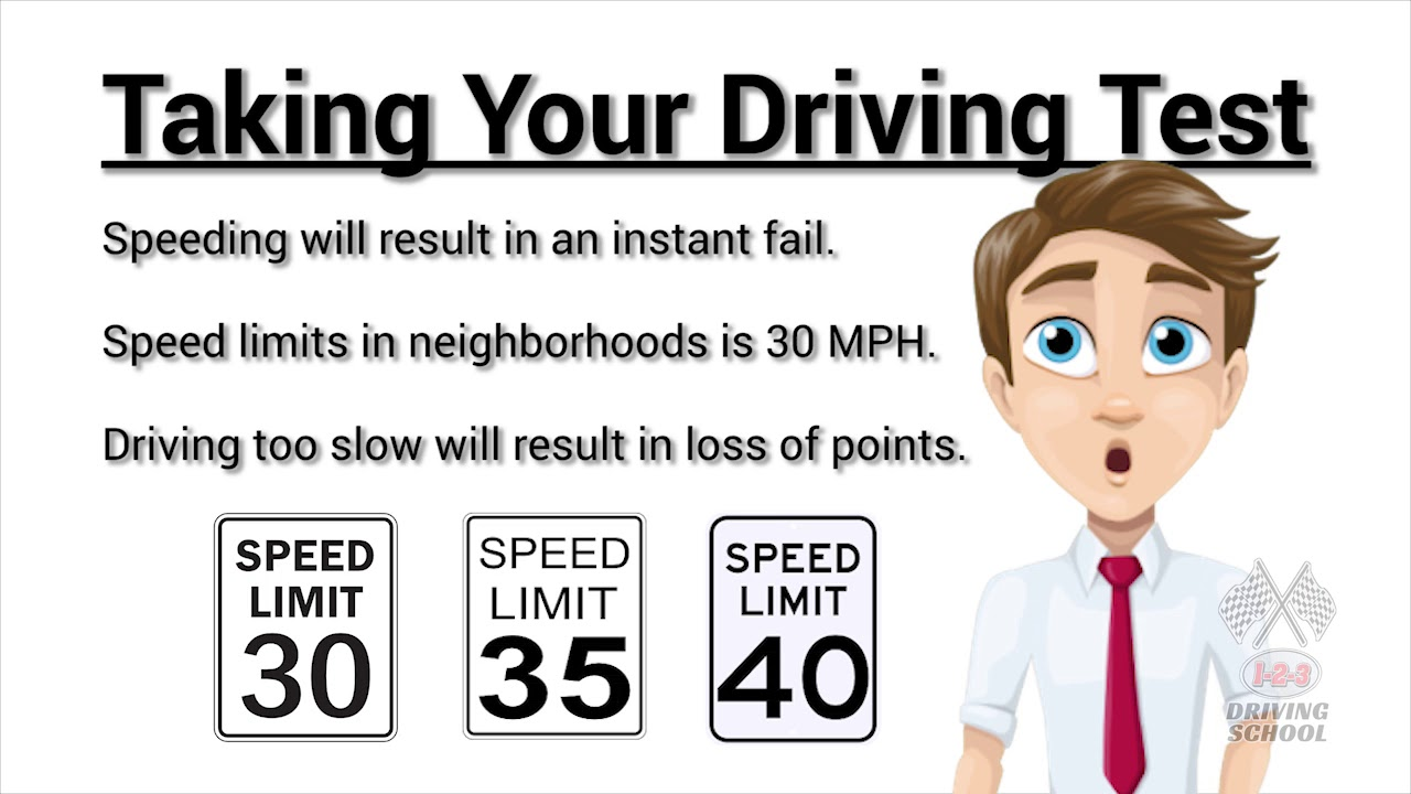 Take Your Driving Test Today | 1-2-3 Driving School