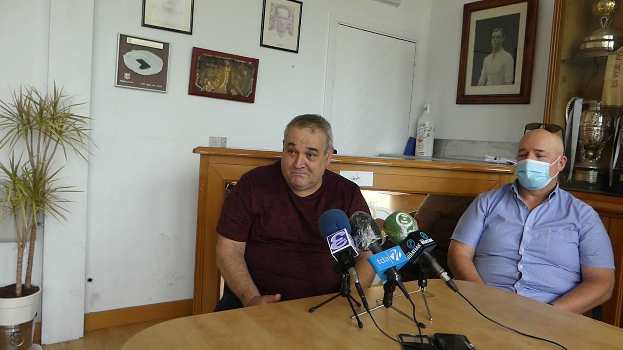 """Agustín Eceiza, presidente del Landetxa KT: """"Gracias a esta idea vamos a crecer como club"""""""