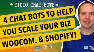 Tidio Chatbot For Boosting Online Conversion