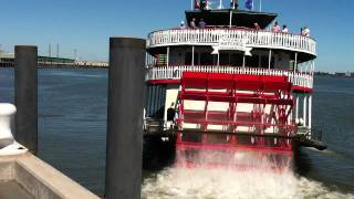 Steamer Natchez Departs New Orleans