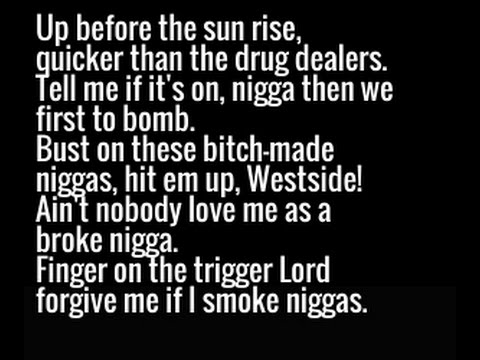2Pac - Still West Side (New 2016) Lyrics