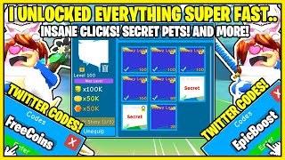 OOFING LEGENDS! I WAS *GIVEN* THE BEST PETS AND BEAT THE GAME SUPER QUICK! ALL TWITTER CODES! + MORE