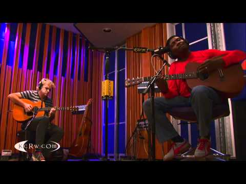 """Jimmy Cliff performing """"Many Rivers To Cross"""" on KCRW"""