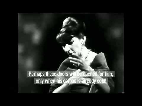 Maria Callas: Miserere (Verdi's Il Trovatore) 1958