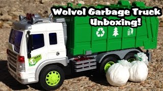 WolVol Friction Powered Garbage Truck l UNBOXING!