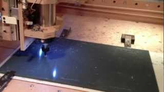 My New Homemade Diy Cnc Router, First Job With A Customer Print Part #1