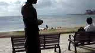 The Strongest Muslim In Hawaii Praying at Waikiki Beach