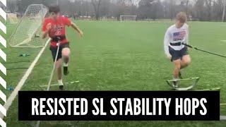 Resisted SL Stability Hops