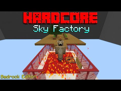 Hardcore Sky Factory For The Bedrock Edition of Minecraft[Ep