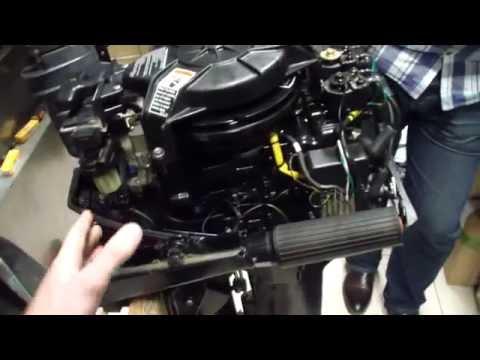консервация 2 тактного лодочного мотора за 1000 рублей.