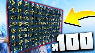 x100 BLAZE SPAWNER CHALLENGE! (Minecraft Ice Factions #14)