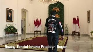 Jokowi Ajak Zohri Jalan-jalan di Istana Bogor