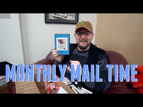 Monthly Mail Time - November 2017