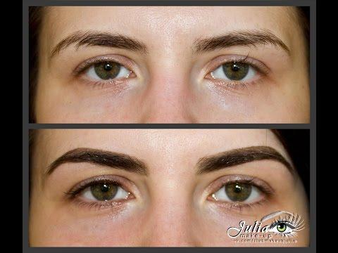Мелирование на темные волосы: фото до и после