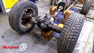 Мощный электро квадроцикл с двигателем от погрузчика!!