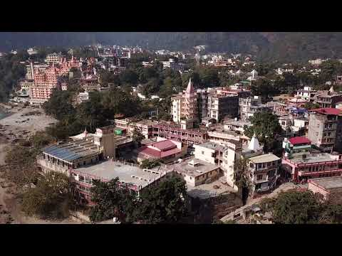 Drone Dreaming :  Rishikesh  (Northern India) by DJI Mavic Pro 1080 Full HD