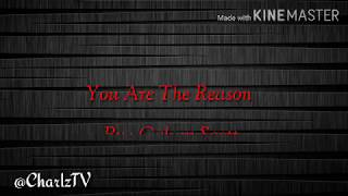 You Are The Reason By Calum Scott |  Cover By : Daryl Ong And Morissette Amon