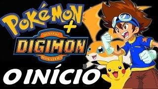 Pokémon Hack: Digimon Operation Digipedia - O Início com Tai e Patamon